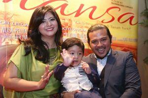 Jelang ramadan, Ramon Y Tungka digugat cerai Qory Sandioriva