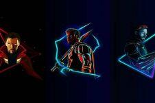 12 Ilustrasi digital 'Avengers: Infinity War', cocok jadi wallpaper HP