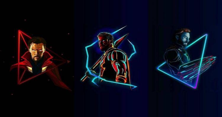 12 Ilustrasi Digital Avengers Infinity War Cocok Jadi