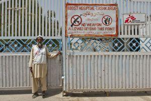 Eksibisi kondisi rumah sakit di medan perang ini gugah sisi humanismu