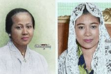 8 Foto jadul publik figur cewek diwarnai ulang, ada Mak Nyak saat muda