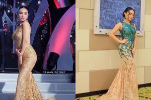 10 Pesona Zaskia Gotik saat kenakan mermaid dress, anggun dan menawan