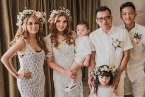 10 Momen manis perayaan anniversary ke-6 pernikahan Anang dan Ashanty