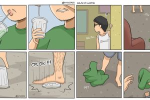 10 Komik 'kehidupan masa kecil' ini liku-likunya bikin ngakak salto