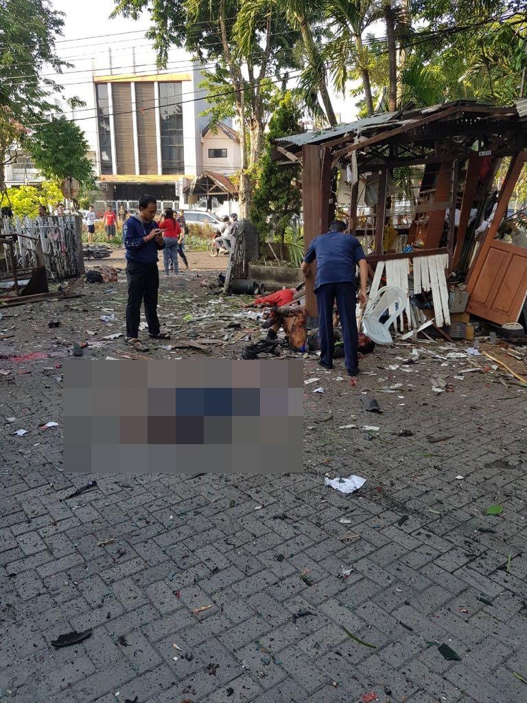 Handphone Bekas Di Surabaya Cekresi Jne 2018 Teror Bom Ini 7 Foto Kondisi Terkini Usai Ledakan