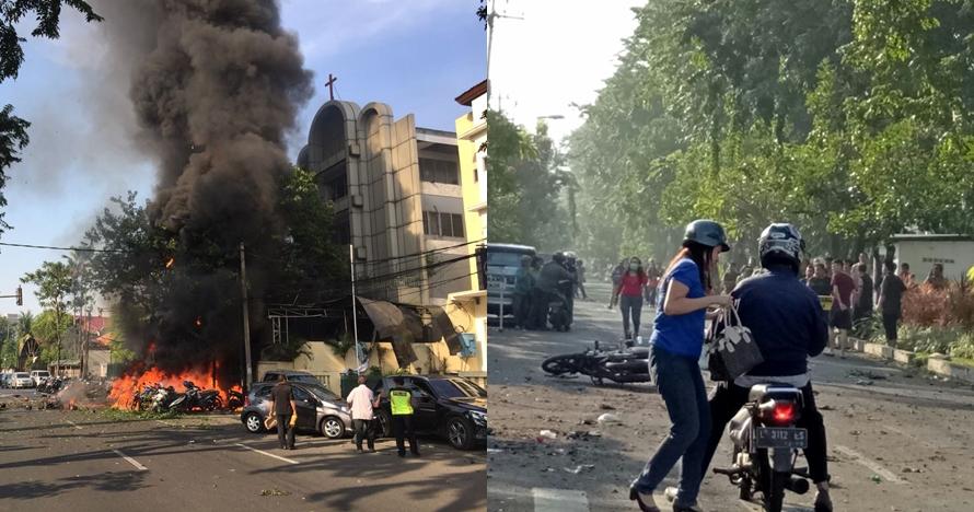 Teror bom di Surabaya, ini 7 foto kondisi terkini usai ledakan