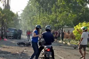Ini kesaksian petugas parkir gereja jelang ledakan bom di Surabaya