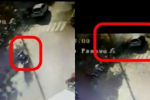 Ini rekaman CCTV detik-detik pelaku teror bom Surabaya meledakkan diri