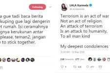 Cuitan duka 7 seleb atas pengeboman di Surabaya