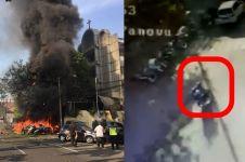 Pelaku pengeboman di 3 gereja berjumlah 6 orang diduga satu keluarga