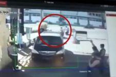 Ini potongan rekaman momen saat bom meledak di Polrestabes Surabaya