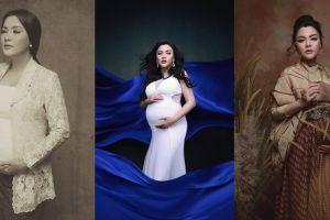 11 Potret maternity Vicky Shu dalam konsep tradisional dan modern