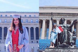 Raih gelar master, ini 10 foto keseruan wisuda Tasya Kamila di Amerika
