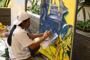 Yello Hotel gelar kompetisi dan kolaborasi mural di Bandung, keren!