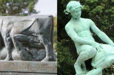 10 Pose absurd patung ini bakalan bikin kamu mikir yang aneh-aneh