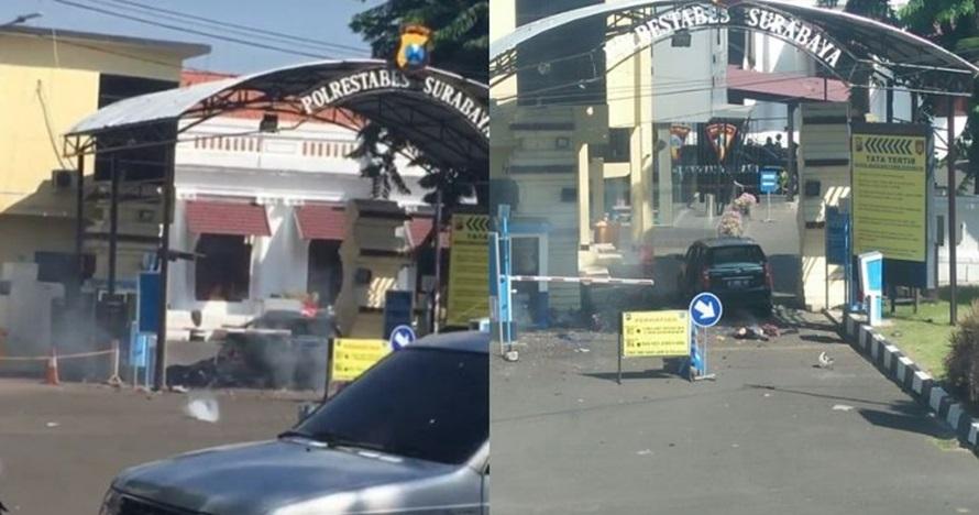 7 Kasus teror di markas polisi, dari pembacokan hingga bom bunuh diri