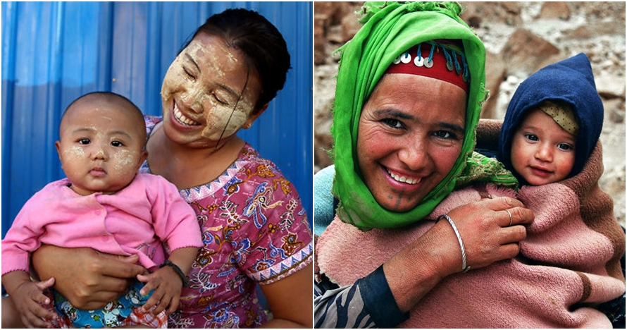 Potret ikatan kuat 10 ibu & anak dari berbagai negara, kangen rumah