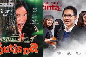 Editan wajah Sule di 11 poster film terkenal ini lucu-lucu ngeselin