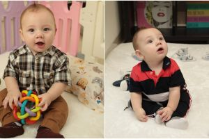 7 Potret kamar baby Lucio, bayi Stefan & Celine yang bule abis