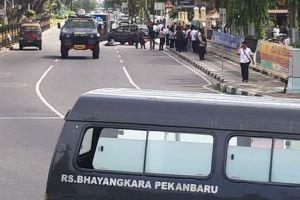 Mapolda Riau diserang teroris, begini kondisi terkininya