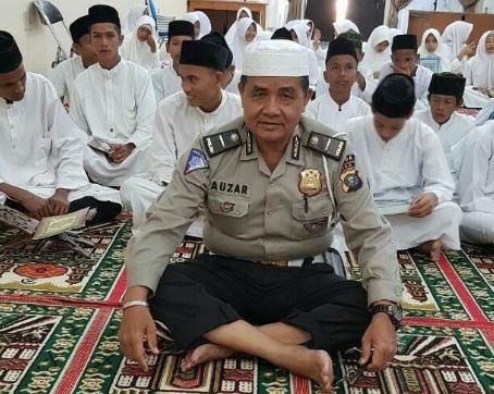 Ini sosok Ipda Auzar yang gugur ditabrak mobil teroris di Polda Riau