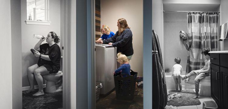10 Potret gambarkan betapa 'rempongnya' seorang ibu saat mengurus anak