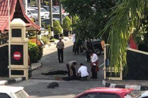 Ini identitas 4 terduga teroris yang menyerang Mapolda Riau