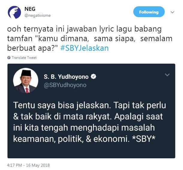 cuitan #SBYJelaskan 6 © 2018 brilio.net