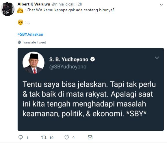 cuitan #SBYJelaskan 7 © 2018 brilio.net