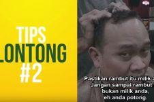 6 Tips potong rambut di salon ala Cak Lontong, kocaknya geregetan