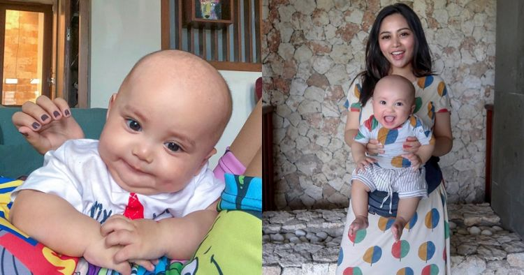 Persis boneka, begini 12 ekspresi gemas Xabiru anak Rachel Vennya