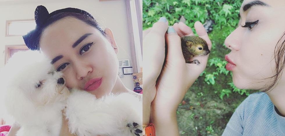 7 Potret ini tunjukkan Aura Kasih penyayang binatang, sweet banget