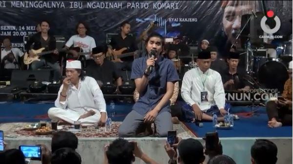 Sambut Ramadan, ini momen Duta SO7 tampil dalam pengajian Cak Nun