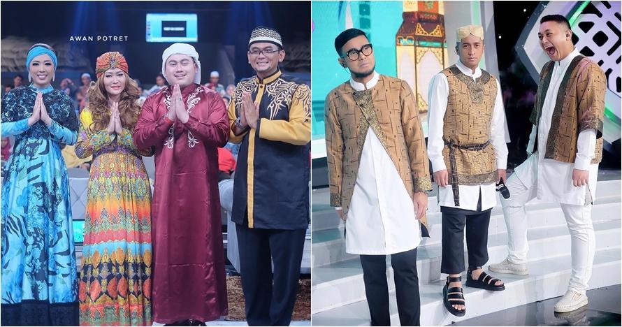 8 Potret keluarga Festival Ramadan Indosiar, kompak bergaya islami