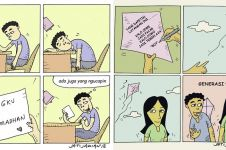 9 Komik strip 'usaha para jomblo' ini bikin tersenyum kecut