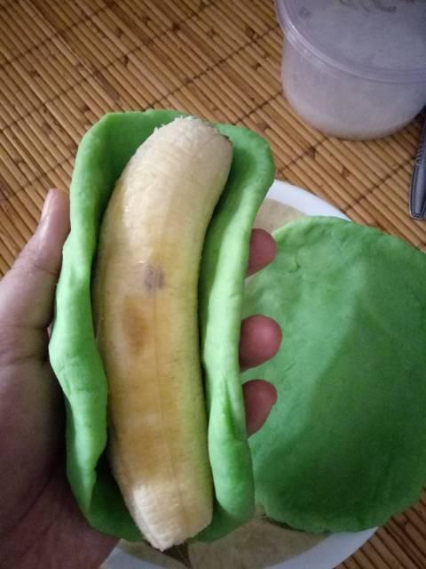 bikin es pisang ijo © 2018 Cookpad