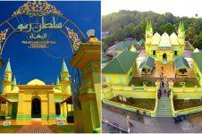 5 Fakta unik Masjid Raya Sultan Riau, dibangun dengan putih telur