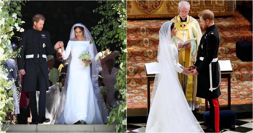 15 Potret prosesi pernikahan Pangeran Harry-Meghan, romantis abis