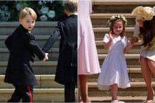 10 Potret imutnya pengiring pernikahan Pangeran Harry-Meghan