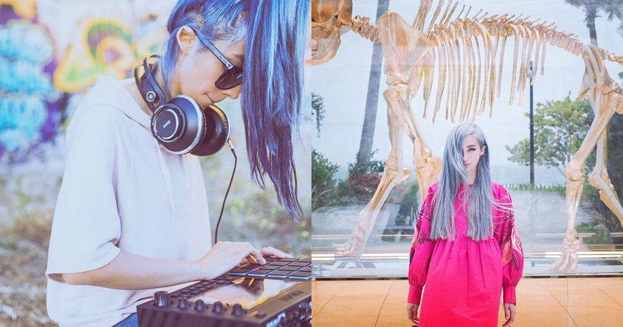 10 Pesona Melissa, keyboardist cantik band legendaris Guns N' Roses