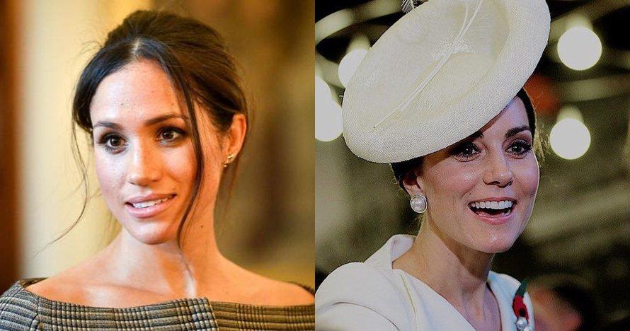 10 Beda gaya Meghan Markle & Kate Middleton, putri kerajaan Inggris