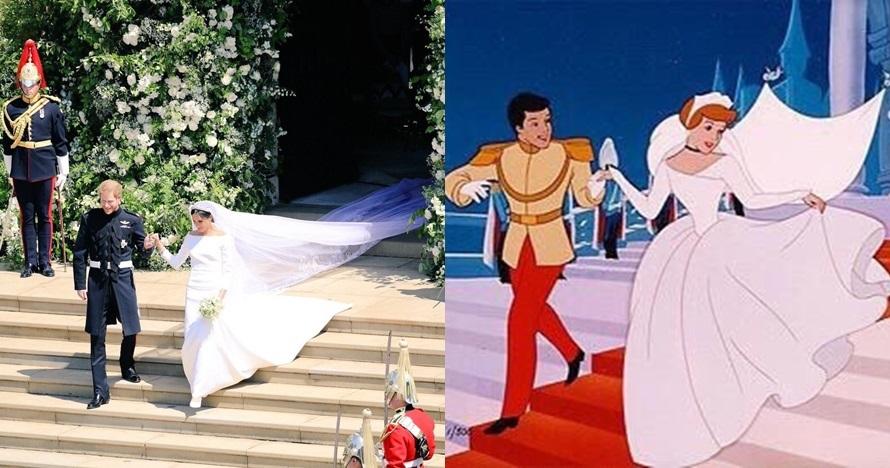 Cocoklogi 4 potret pernikahan Pangeran Harry-Meghan dan Cinderella
