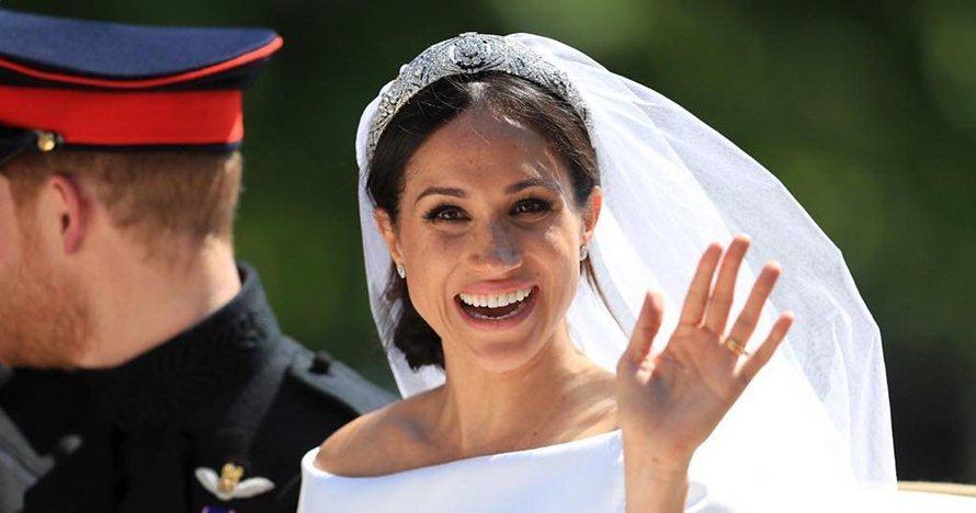 Foto langka Meghan jadi turis di Buckingham, kini dia menghuni istana
