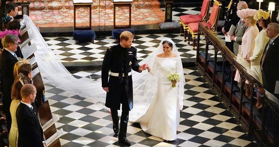 5 Gaya klasik pernikahan Pangeran Harry-Meghan yang bikin dunia kagum