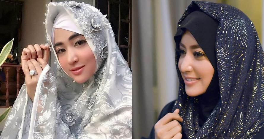 7 Pesona Dewi Perssik dalam balutan hijab, cantiknya bikin pangling