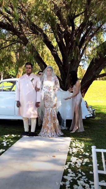 pernikahan greg dan kimmy © 2018 instagram