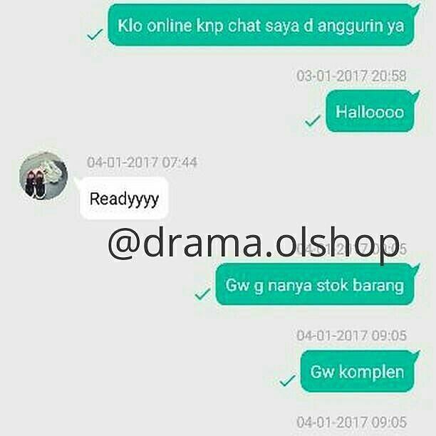 percakapan singkat kocak © 2018 instagram