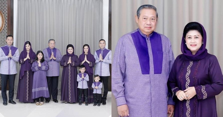 9 Momen meriah keluarga SBY jalani Ramadan, ada rayakan ultah mertua