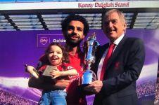 10 Potret ini tunjukkan Mohamed Salah sosok family man