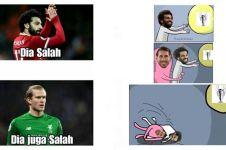 10 Meme insiden Ramos dan Salah ini bikin ketawa miris